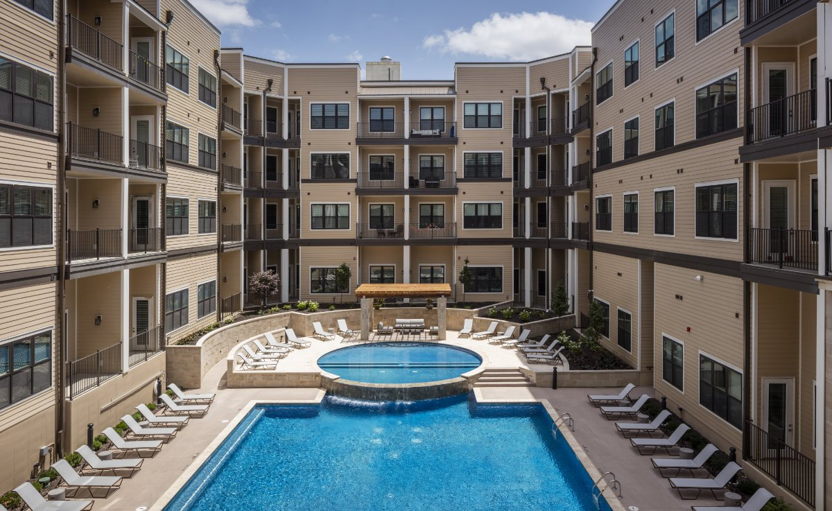 Promontory Apartments in Overland Park featuring Anderson Windows
