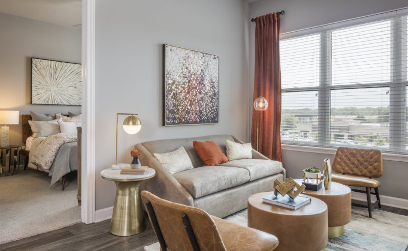 Promontory Apartments in Overland Park featuring Anderson Windows - Interior